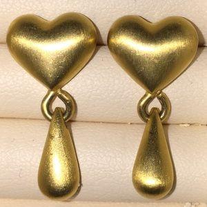 Vintage EXPRESS peirced earrings